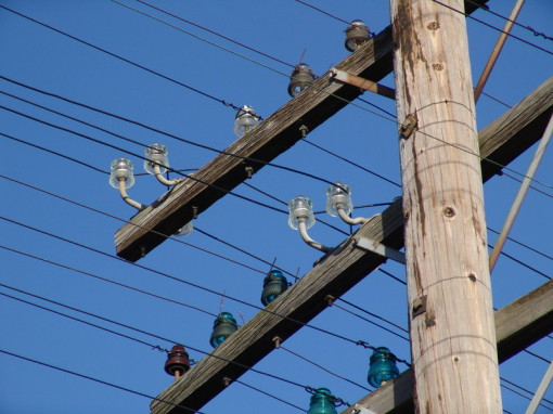open wire transpositioning systems the song of the open wire rh the electric orphanage com Glass Insulators definition of open wiring on insulators