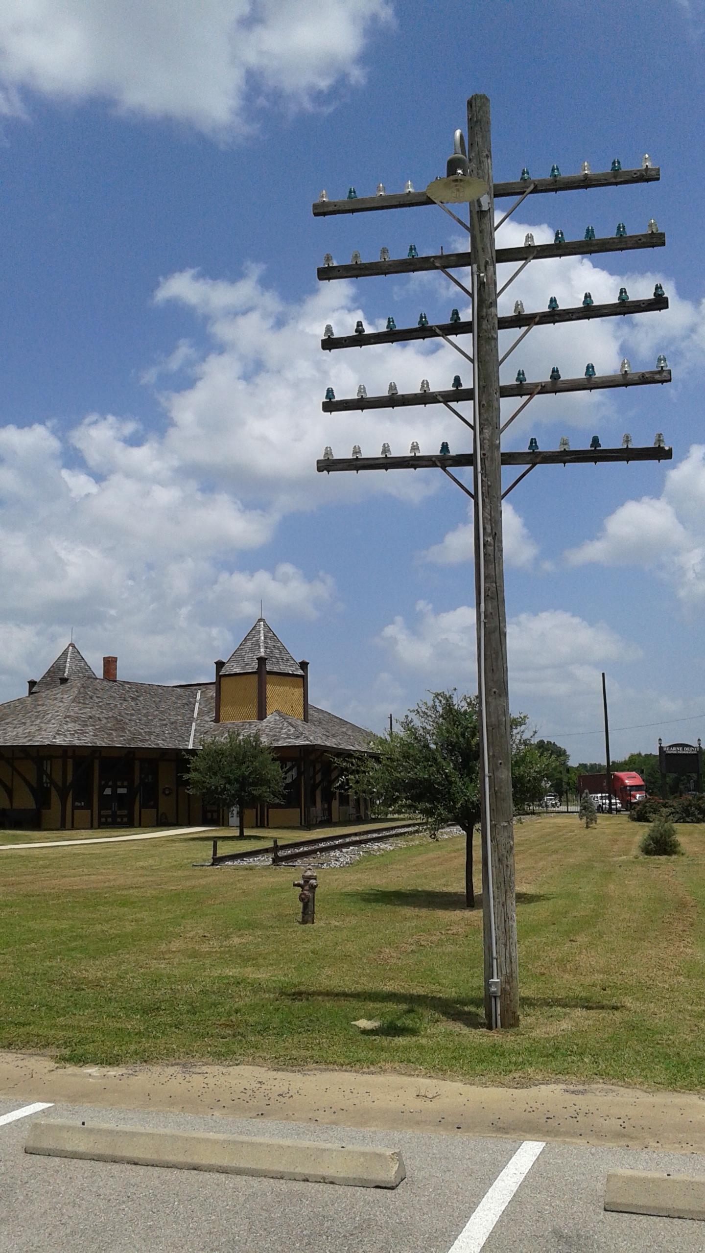 Hearne Depot Railroad Museum, 2015.