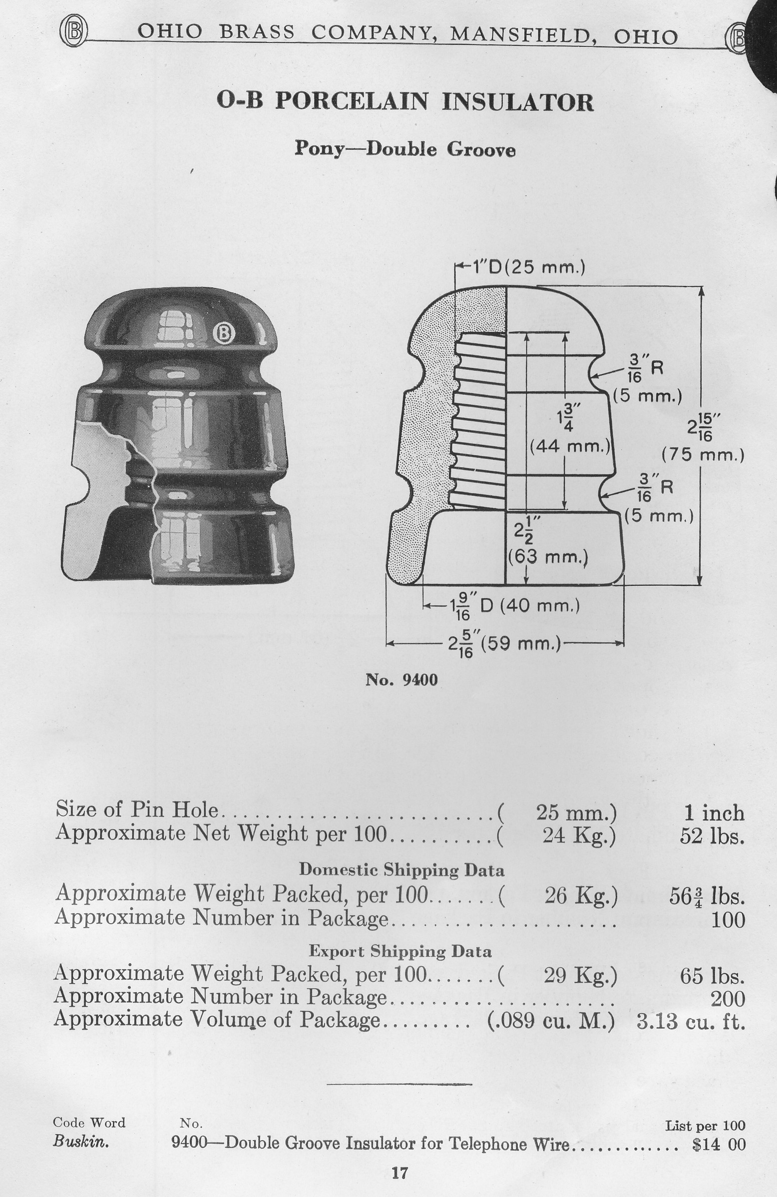 Insulators, Hardware & Other Objects of Interest | The Song of the ...