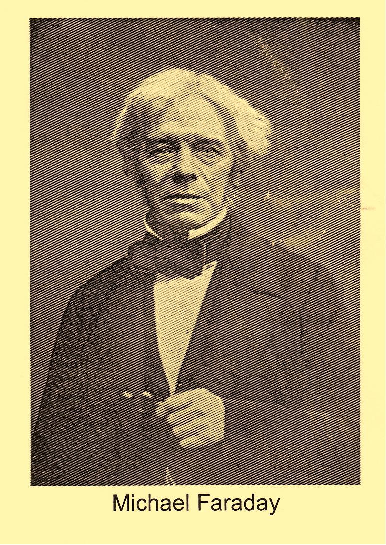 Michael Faraday illustration