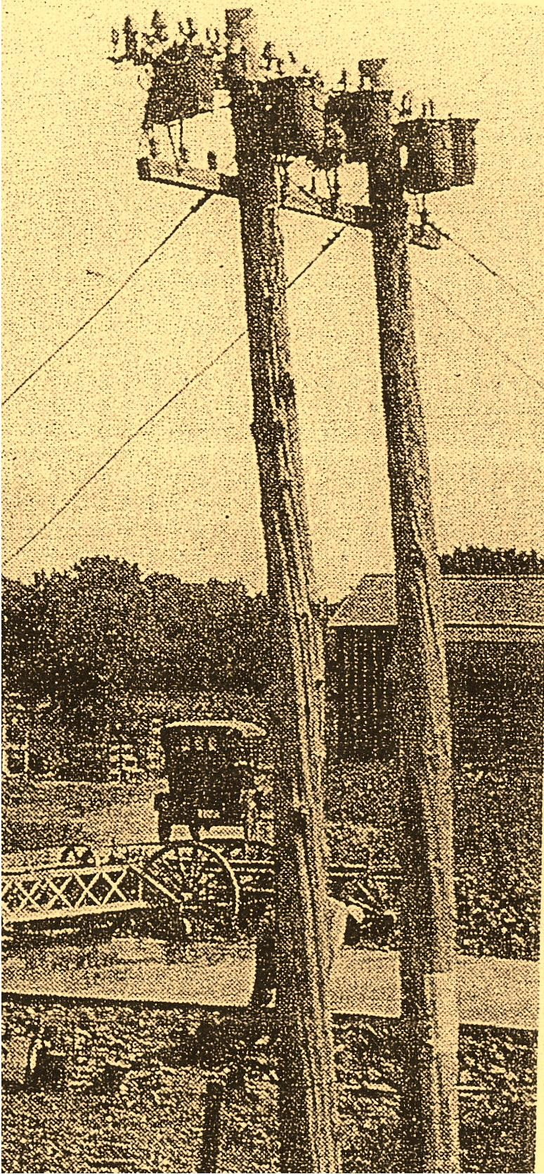 Open Wire Loading Coils Antique Picture